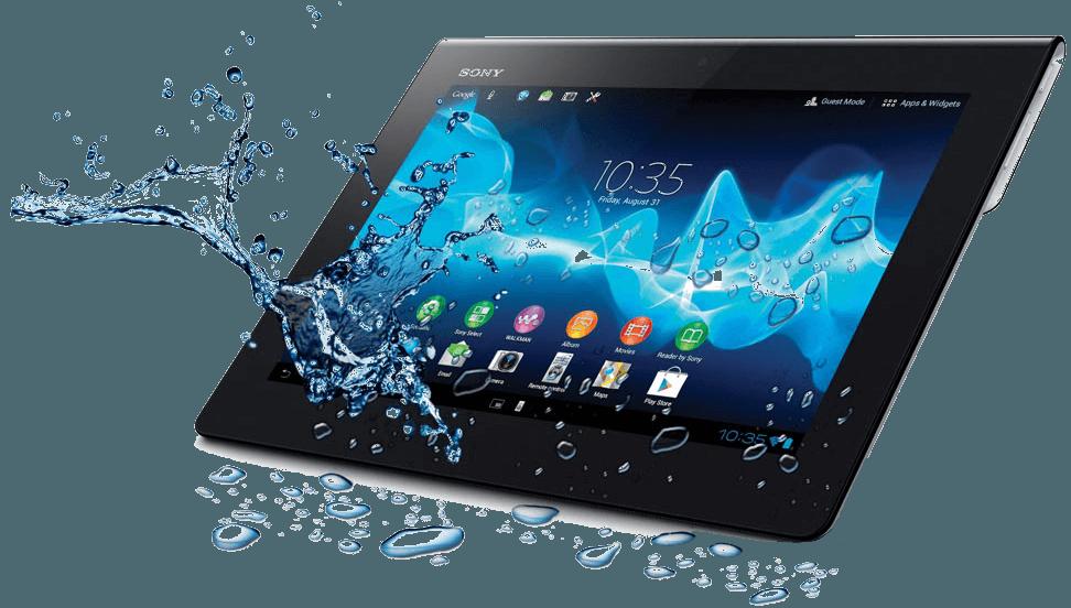 Corpus Christi tablet water damage repair